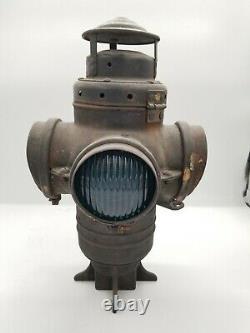 N&W Ry Railroad Switch Antique Lantern Armspear Norfolk Western Railway RR Lamp