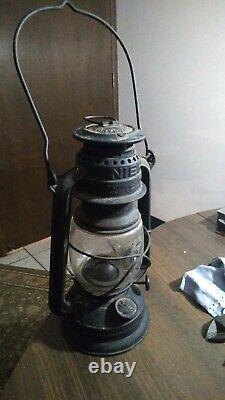NIER Feuerhand 275 Lantern Firehand Germany Railroad fishing heater lamp ice