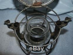 NYCS NewYork Central System Railroad Dietz Vesta Lantern Clear Globe