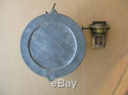 NYLE&W Railroad tall lantern twist off bottom cast globe The Adams