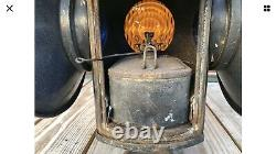 New York Central Railroad Switch Lantern Lamp With NYC RR Complete Burner