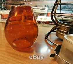 New York Hew Haven & Hartford Railroad Lantern A&w Company Nynh&hrr 1883