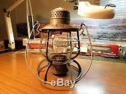 Northern Pacific Railroad Lantern Armspear Manf'g Co. New York Npry 1886