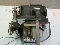 Old Railroad Searchlight Block Signal With Working Mech And Mast Restored