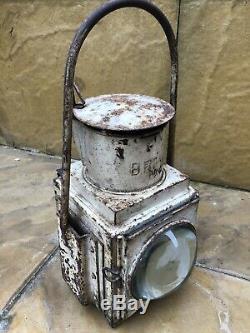 Original BR(W) British Railways Western Region Steam Locomotive Head Lamp 1950s