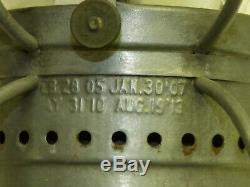 P&R Philadelphia & Reading Loco Dept Railroad RR Lantern Armspear Embossed Globe