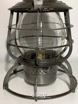 P & R Ry (philadelphia & Reading) Armspear Tall Globe Railroad Lantern