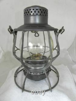 PENNSYLVANIA RAILROAD LANTERN Clear Cast PRR Lantern Globe