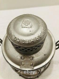 PRR Keystone Pennsylvania Railroad Armspear 1925 Lantern RARE Orange Globe Nice