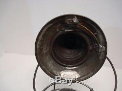 Passumpsic or Pennsylvania Railroad Brass Top Bellbottom Lantern Exceptional