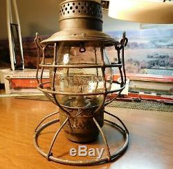 Pennsylvania Railroad Lantern A&w Company Pennsylvania Lines 1895