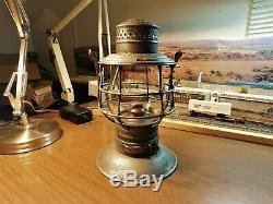 Pennsylvania Railroad Lantern Adams & Westlake Company Pennsylvania Lines 1895