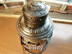 Philadelphia & Reading Railroad Lantern A&w Co. The Adams P & R. R. R. 1886