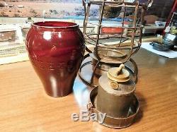 Philadelphia & Reading Railroad Lantern Rr Signal Lamp & Lantern Co P&r Rr 1886