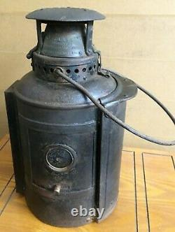 Pre 1922 Midland Railway Company Adlake Railway Locomotive Lamp