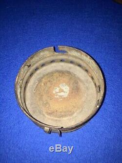 Pre Civil War Antique Concord Railroad Lantern FIXED globe Whale Oil Lantern