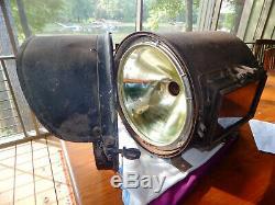 Pyle National steam locomotive headlight 1900-1908 Pennsylvania Railroad train