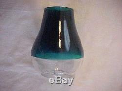 RARE 2 Color GREEN and CLEAR Conductors Railroad Lantern GLOBE