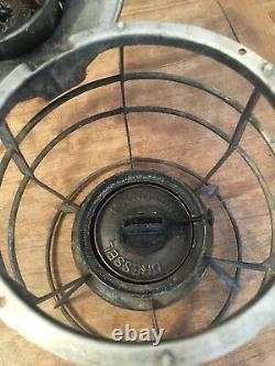 RARE! Antique Dressel Railroad Lantern POLICE Red Globe NYPD New York Complete