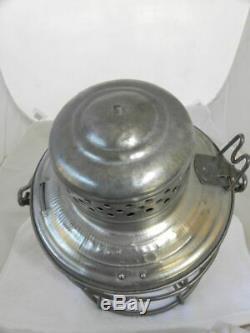 ROCK ISLAND LINES RAILROAD LANTERN Clear Cast CNX Lantern Globe