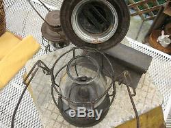 Railroad Adlake Lantern D. M. U. RY. RARE