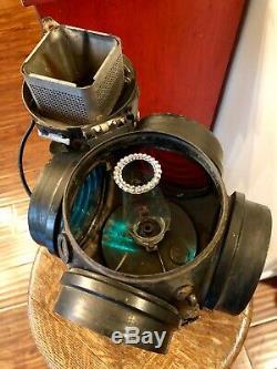 Railroad Caboose Lantern Adlake Non Sweating Lamp Chicago