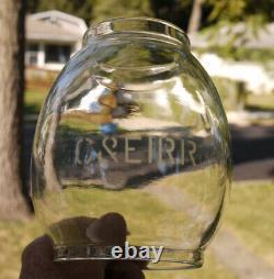 Railroad Lantern C&EI RR Ry Chicago & Eastern Illinois A&W Etched Globe C&EIRR