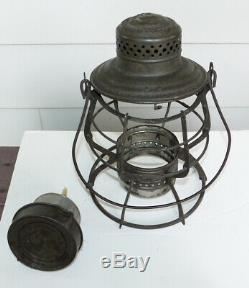 Railroad Lantern C&EI RR Ry Chicago & Eastern Illinois CC Globe super Frame