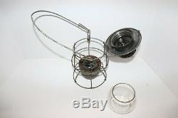 Railroad Lantern Clear Globe NKP ADLAKE KERO 300 Version 3, Dated 1-53