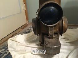 Railroad Lantern, Dressel Antique Caboose Light