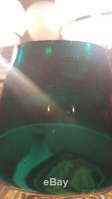 Railroad Lantern Globe Conductor / Presentation Green Over Clear