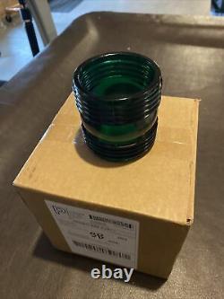Railroad Lantern Rare Green Fressnel Lense