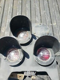 Railroad Signal Dwarf Signal N&W Safetran PL