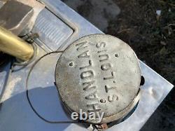 Railroad Switch Lamp Missouri Kansas & Texas Railroad MK&T The Katy