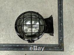 Railroad Train Headlights Signal Marker Vintage