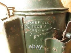 Railway lamp. Railwayana. British Rail. Railway lamp. 3 way signal lamp