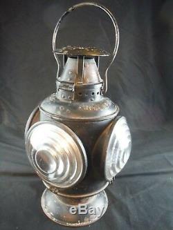 Rare 1907 Adlake Portland Railway Light & Power Railroad Lantern P. Ry. L. & P