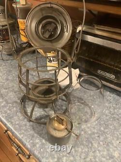 Rare 1913 Dressel Railroad Lantern, All Original And Mint. 1139 Original Burner