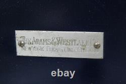Rare Adams And Westlake Folding Railroad Steam Train Sink Late 1800s (J1)