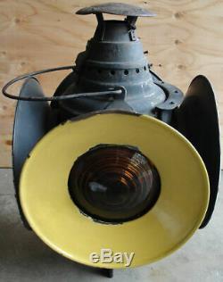 Rare Antique Dressel Kerosene Railroad Switch Switching Signal Lantern AWESOME