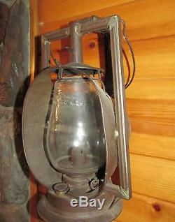 Rare Early 1900's New York Central Railroad Dietz Acme Inspector Lamp Lantern