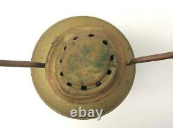 Rare L Searls Brass Keely & Co Rochester NY Railroad Lantern Lamp Parts