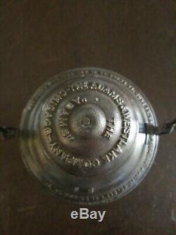 Rare Union Pacific Overland Route A&W railroad lantern The Adams clear globe
