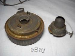 Rare Vintage Dietz Vesta M. D. U. S. Army Railroad Lantern with Matching Globe