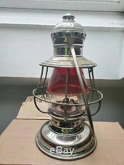 Red Over Clear CT Ham Railroad Lantern