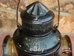 Rio Grande Western Railway RGWRy, M. M. Buck Co. Train Order Signal Board Light