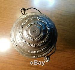 Rock Island Railroad Lantern Adams & Westlake Company Rock Island System 1895