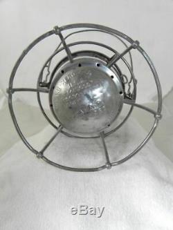 SANTA FE AT&SFRY RAILROAD LANTERN Clear Cast AT&SFRy Lantern Globe