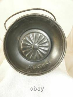 SANTA FE RAILROAD LANTERN Clear Cast Santa Fe Cross Logo Lantern Globe