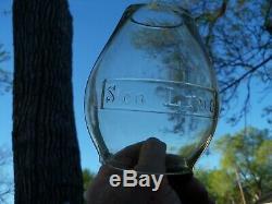 SOO LINE Railroad Tall CC Lantern Globe